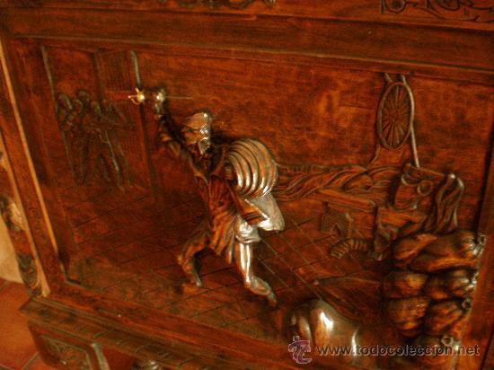 Antigüedades: BARGUEÑO ESTILO RENACIMIENTO - Foto 3 - 29378063