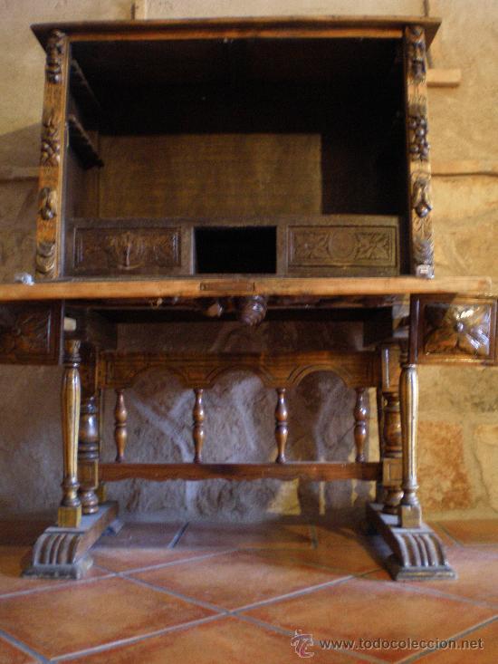 Antigüedades: BARGUEÑO ESTILO RENACIMIENTO - Foto 4 - 29378063