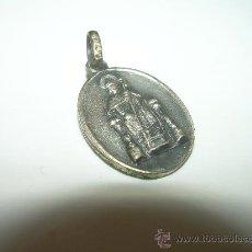 Antigüedades: ANTIGUO RELICARIO CON CONTRASTES DE PLATA......PARTICULAS DE LA PUERTA SANTA..SANTIAGO.. Lote 29384846