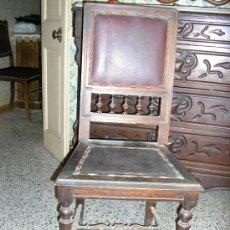 Antigüedades: CONJUNTO DE SEIS SILLAS MAGNIFICAS --AÑOS 1900-. Lote 29394084