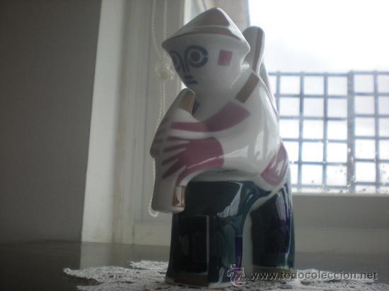 ANTIGUO GAITERO DE SARGADELOS (18 CM). EN . (Antigüedades - Porcelanas y Cerámicas - Sargadelos)
