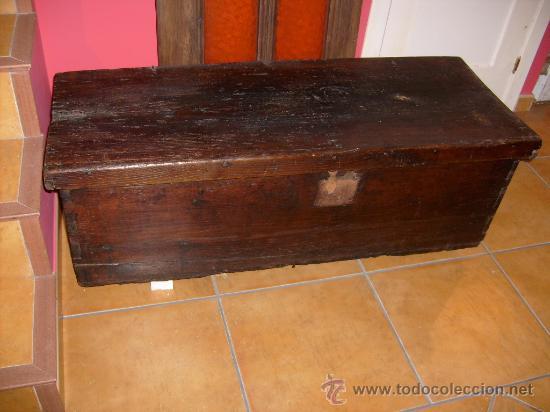 BAÚL RÚSTICO (Antigüedades - Muebles Antiguos - Baúles Antiguos)