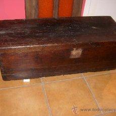 Antigüedades: BAÚL RÚSTICO. Lote 29432054