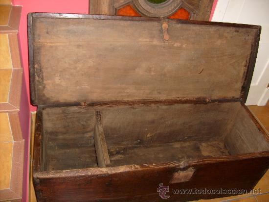 Antigüedades: baúl rústico - Foto 4 - 29432054