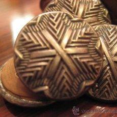 Antigüedades: 8 BOTONES SIGLO XIX.. Lote 29457990