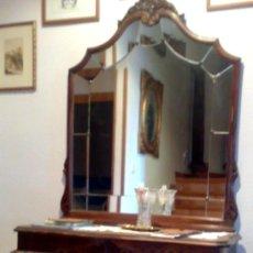 Antigüedades: PPOS XX. CONSOLA DE ENTRADA CON ESPEJO.. Lote 29614835