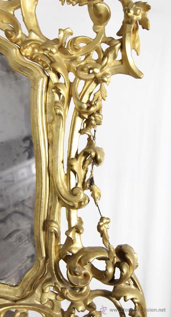 Antigüedades: Importante pequeña cómoda catalana de pubilla con espejo, siglo XVIII. En raiz de nogal, ver. - Foto 5 - 29447319