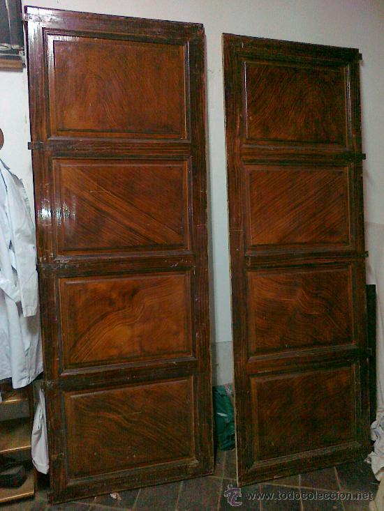 Antiguas puertas de armario empotrado de madera comprar - Compro puertas antiguas ...