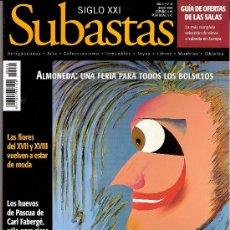 Antigüedades: SIGLO XXI. SUBASTAS. Nº 48. MARZO 2004. ALMONEDA. HUEVOS DE FABERGÉ. TANTEO Y PERMISO DE EXPORTACIÓN. Lote 29498554