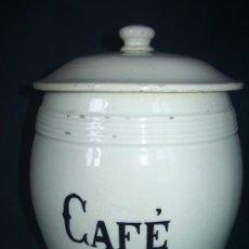 Antigüedades: BOTE CERÁMICA . CAFE.. Lote 38384430