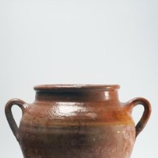 Antigüedades: ANTIGUA OLLA DE BARRO. Lote 29526375