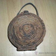 Antigüedades: CANTIMPLORA DE MIMBRE. Lote 29535898