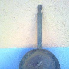 Antigüedades: ANTIGUA SARTEN DE HIERRO.. Lote 29576588
