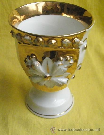 ANTIGUA COPA DE PORCELANA. ZUM PATENGESCHENH (Antigüedades - Hogar y Decoración - Copas Antiguas)
