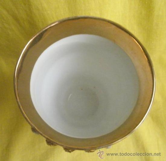 Antigüedades: Antigua copa de porcelana. Zum Patengeschenh - Foto 5 - 37735348