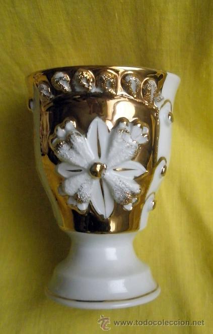 Antigüedades: Antigua copa de porcelana. Zum Patengeschenh - Foto 2 - 37735348
