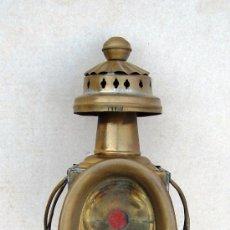 Antiquitäten - farol de laton antiguo, de carruaje ,,, apli365 - 29593590