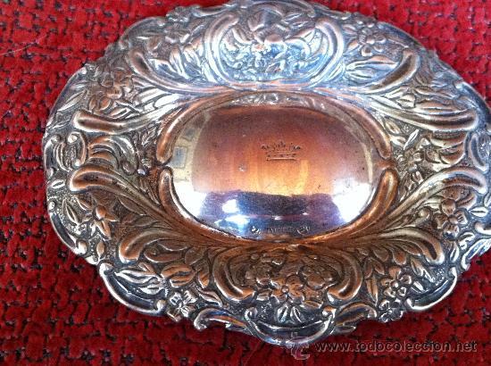 Antigüedades: BANDEJA DE PLATA SIGLO XVIII. ADRADAS - Foto 7 - 29589631