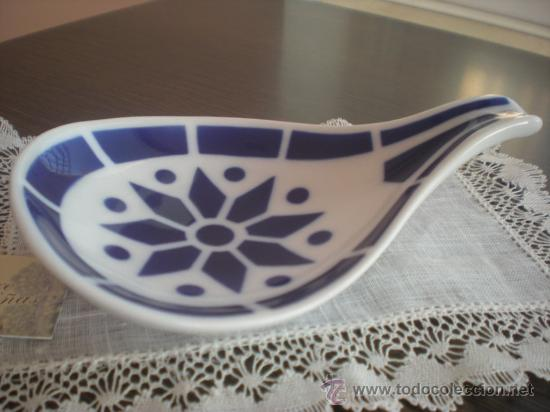 Antigüedades: Juego de 4 platos tapas ROS n º1 (13x9 cm) de Sargadelos sin estrenar. En . - Foto 2 - 29256662