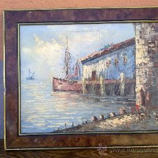 Antigüedades: PRECIOSO CUADRO PINTADO A MANO.. Lote 29619581