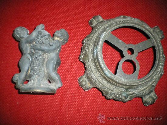 Antigüedades: PRECIOSO RESTO ANTIGUO DE LAMPARA DE ART_DECOR. - Foto 2 - 29621161