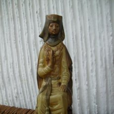 Antigüedades: DOÑA JIMENA DE LLADRO MUY BONITA LE FALTA UN TROCITO EN LADO IZQUIERDO 30CMS. Lote 29627516