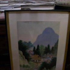 Antigüedades - CUADRO PINTURA CHINA - 29653819