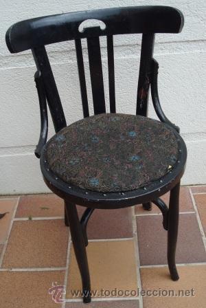 Silla de bar de madera de haya para restaurar comprar for Antiguedades para restaurar