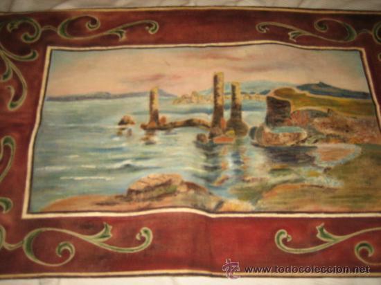 Antigüedades: TAPIZ ESCENA MARINERA - Foto 2 - 29663600