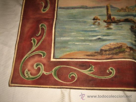 Antigüedades: TAPIZ ESCENA MARINERA - Foto 3 - 29663600
