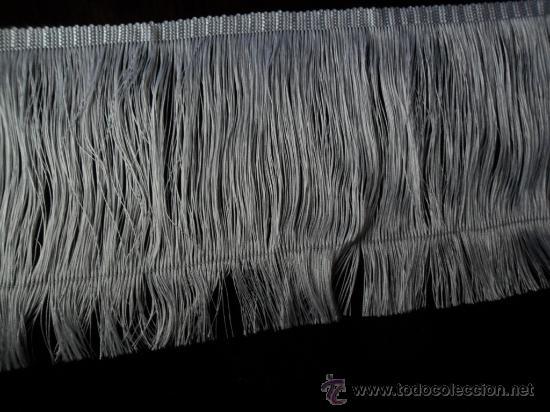 Antigüedades: FLECOS DE SEDA BLANCOS ANTIGUOS - Foto 2 - 29676158