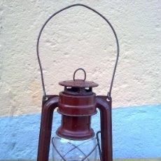 Antigüedades: BONITO FARON EN COLOR ROJO.. Lote 29689230