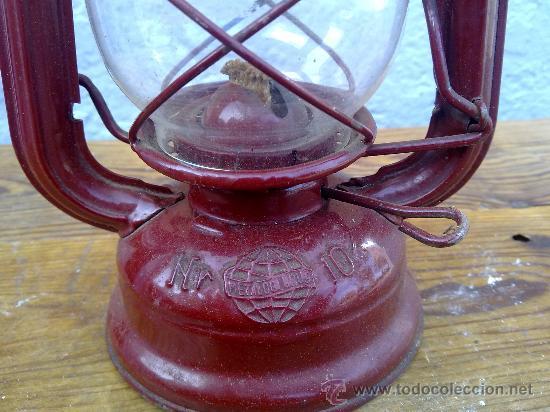 Antigüedades: BONITO FARON EN COLOR ROJO. - Foto 3 - 29689230