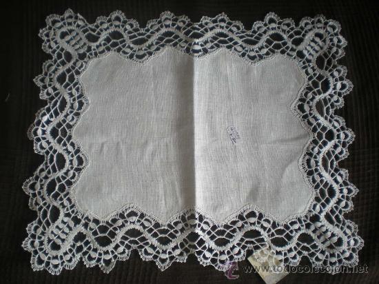 Antigüedades: CUBRE ABANICO 4x3 42x35cm 54e .--- - Foto 3 - 29167902