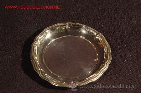 CENICERO DE PLATA S. XX (Antigüedades - Platería - Plata de Ley Antigua)