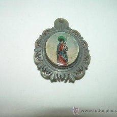 Antigüedades: ANTIGUA MEDALLA DE NACAR.. Lote 29765992