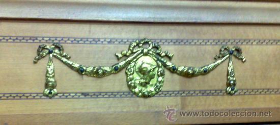 Antigüedades: ANTIGUO ARMARIO ROPERO, FINALES DEL XIX. - Foto 5 - 54664652