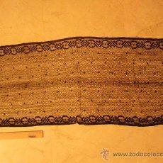 Antigüedades: MANTILLA NEGRA. Lote 29776037