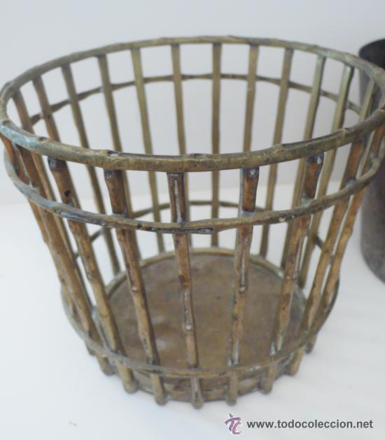 Antigüedades: Macetero en bronce - Foto 3 - 29809733
