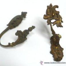 Antiquitäten - Sujeta cortinas bronce - 29811065