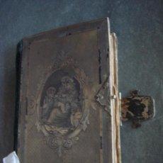 Antigüedades - ANTIGUO LIBRO MISAL CON PASTA SUPERIOR DE PLATA - 29830430