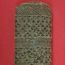 Antigüedades: ESTUCHE FILIPINO HILO PLATA NYLON PESCA S XIX ABALORIOS AZULES MUSEO ANTROPOLOGIA. Lote 29975823