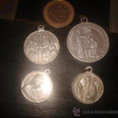 Antigüedades: LOTE MEDALLAS RELIGIOSAS. Lote 29875154