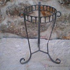 Antigüedades: MACETERO DE HIERRO. Lote 29881997