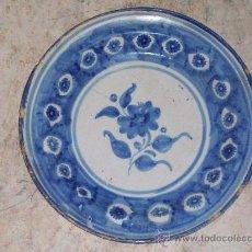 Antigüedades: PLATO DE MANISES DEL SIGLO XIX. Lote 29893204