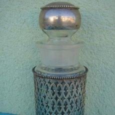 Antigüedades: PERFUMERO EN PLATA CONTRACTADA -S. XIX-. 15 CMS DE LONGUITUD Y 270 GRS DE PESO.. Lote 29933822