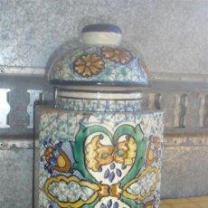 Antigüedades: BOTE GRANDE CERAMICA DE TALAVERA. Lote 156596217