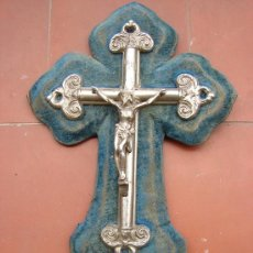 Antigüedades: ANTIGUA BENDITERA DE METAL. Lote 29954780