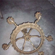 Antigüedades: LAMPARA DE BRONCE DE SIETE LUCES.. Lote 29956690