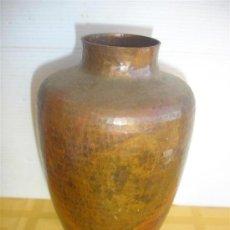 Antigüedades: JARRON DE COBRE. Lote 29964906